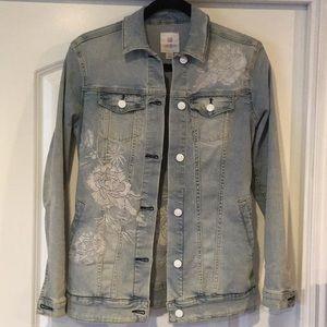 LuLaRoe Jackets & Coats - LuLaRoe Jaxon Jean Jacket